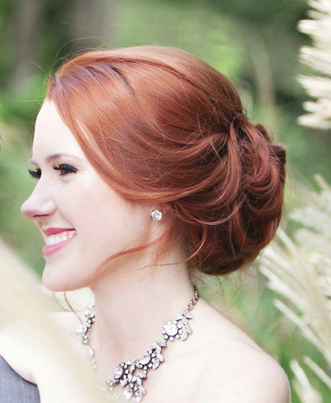 Casamento penteados curto chique