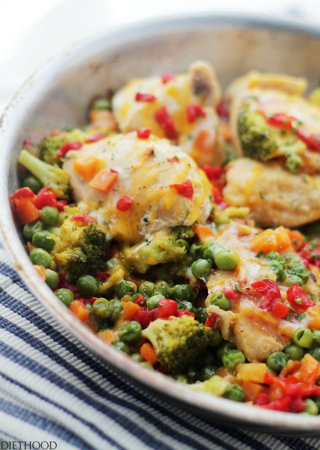 22 Jantares de frango de um pote saborosos