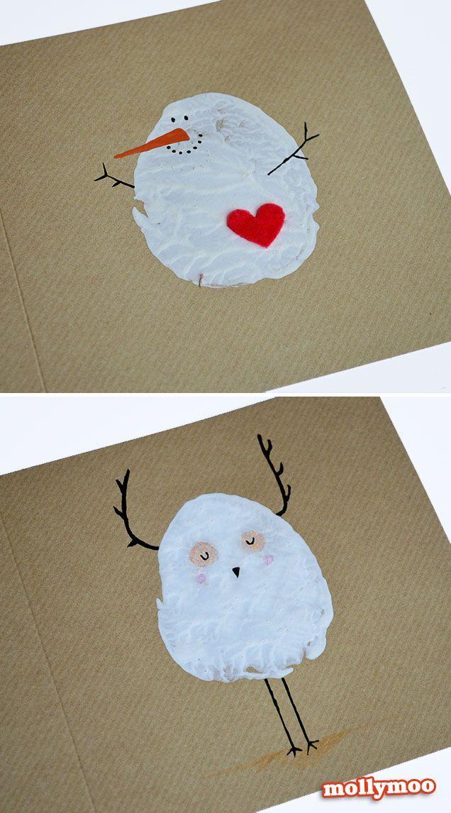 DIY cartões de Natal Lindo