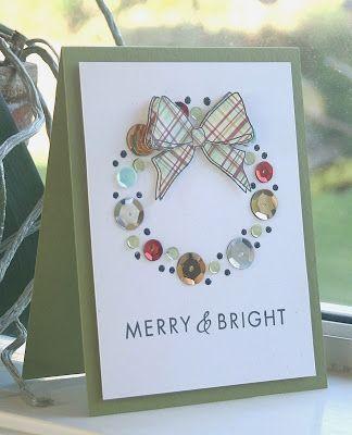 Bow Cartões de Natal