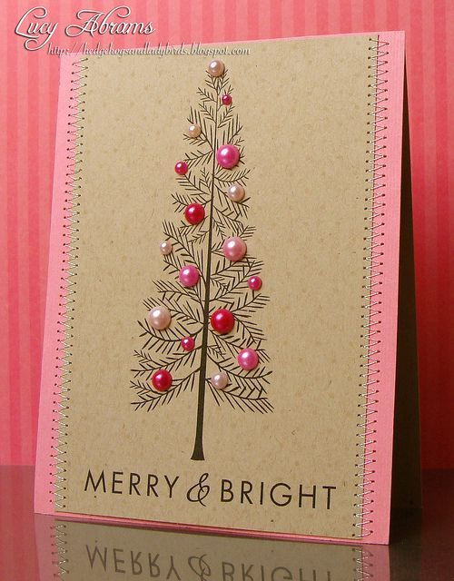 Cartões de Natal da pérola
