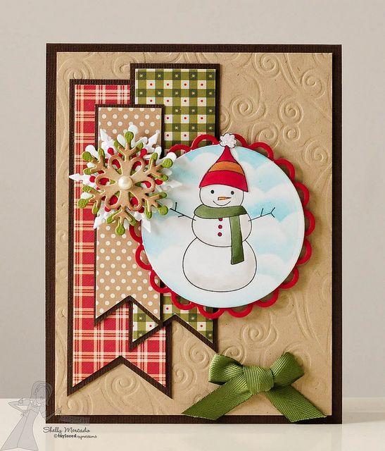 Cartões de Natal bonito