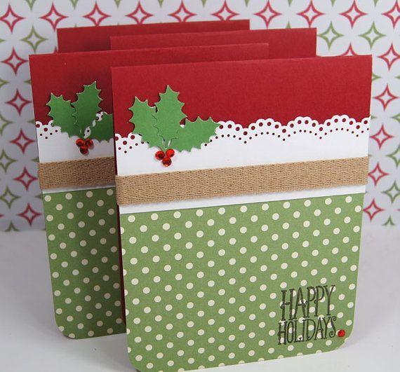 Cartões do feriado do Natal