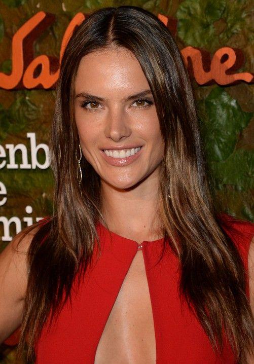 24 Alessandra ambrosio penteados: cabelo celebridade alessandra imagens