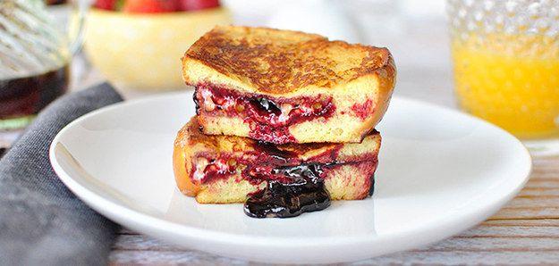 PB e J French Toast