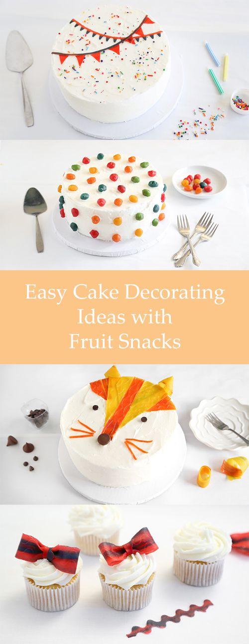 25 Idéias de decoração do bolo incredible