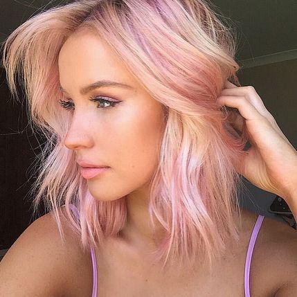 25 Idéias da cor do cabelo pastel para 2016