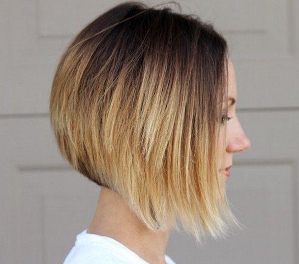 26 Penteados bob ombre popular - idéias da cor do cabelo ombre