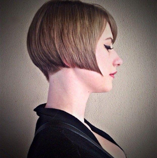 Legal reta curta Bob Haircut por Mulheres