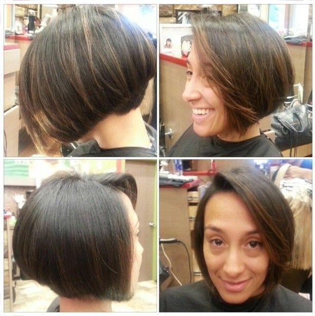 Popular Graduado Bob Haircut por Mulheres