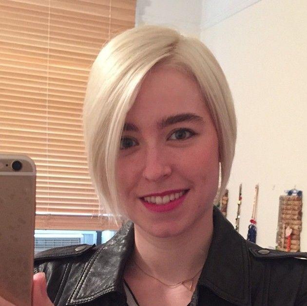 Simples penteado reto Fácil Curto para o inverno