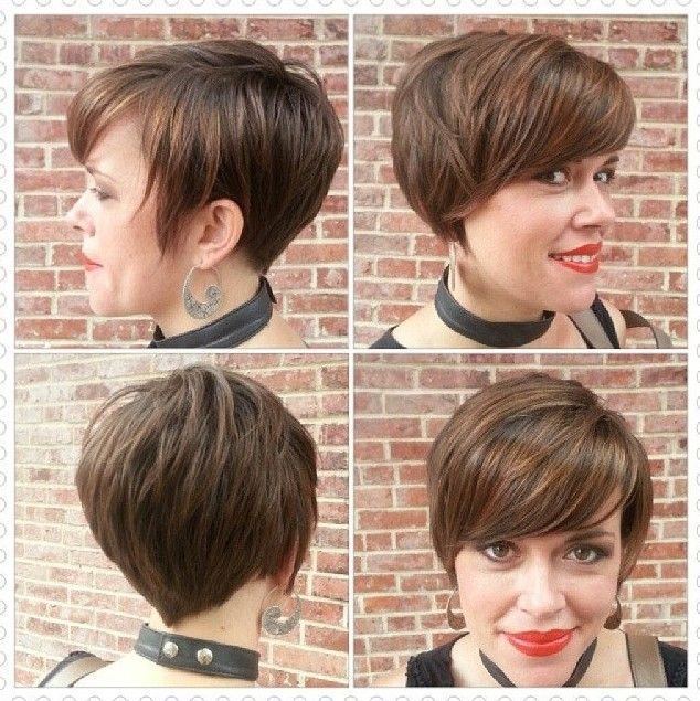 Mais popular penteado curto por Mulheres