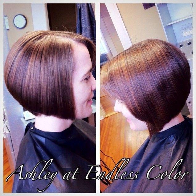 Curto Liso A-line Bob Haircut