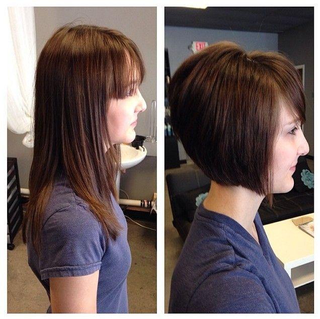 Bonito reta curta Bob Haircut por Mulheres