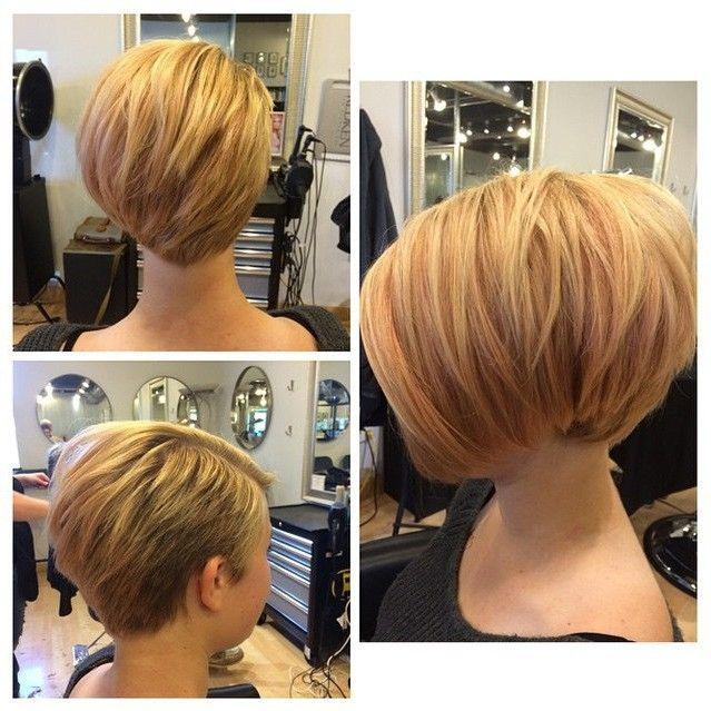 Curto Louro Bob Haircut