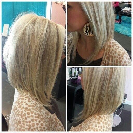 27 Penteados bob long - penteados bonitos lob para as mulheres