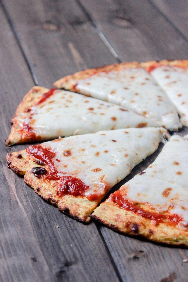 Couve-flor Pizza