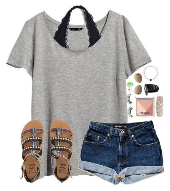 Camisa cinzenta, Rolo Jeans e sandálias via