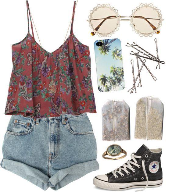 Shorts Floral Top e rolou via