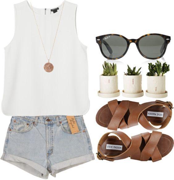 Branca Top e Jeans via Laminados