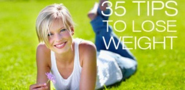 35 Dicas para perder peso
