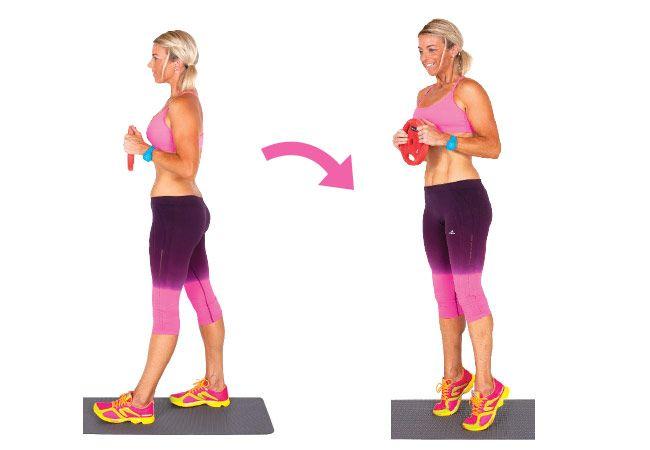4 Exercícios para as coxas tonificadas e bezerros