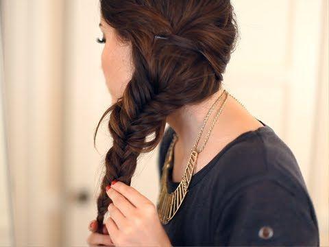 4 dicas para pregar O Fishtail Braid