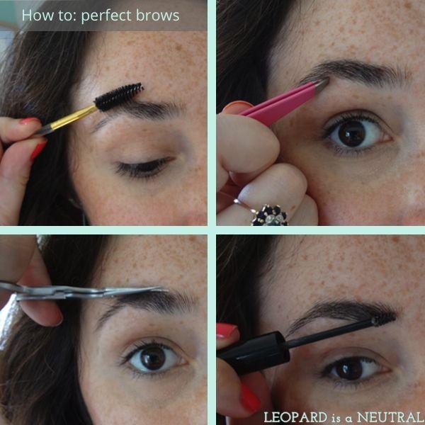 Definindo Brows Com Mascara