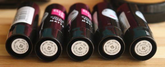 elle 18 colorpops código de cor dos lábios