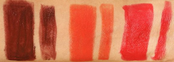 Swatch elle batom fosco 18 colorpops