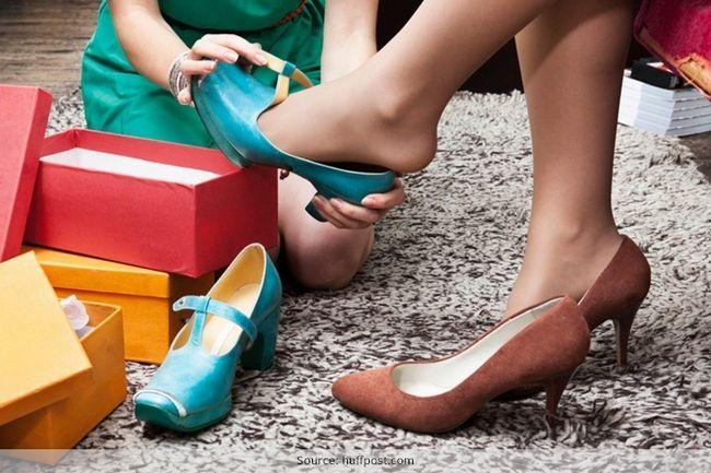 5 Sapatos hacks que vai manter seus pés felizes