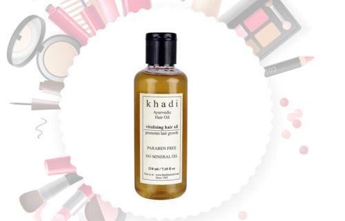 O crescimento do cabelo Khadi Ayurveda óleo de cabelo vitalização