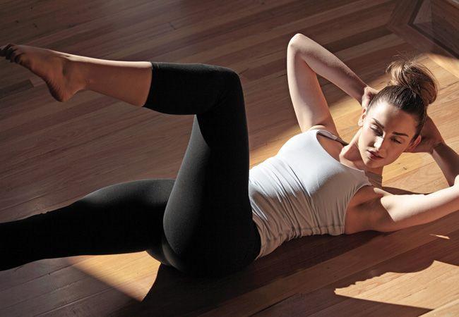6 Exercícios de pilates para abs