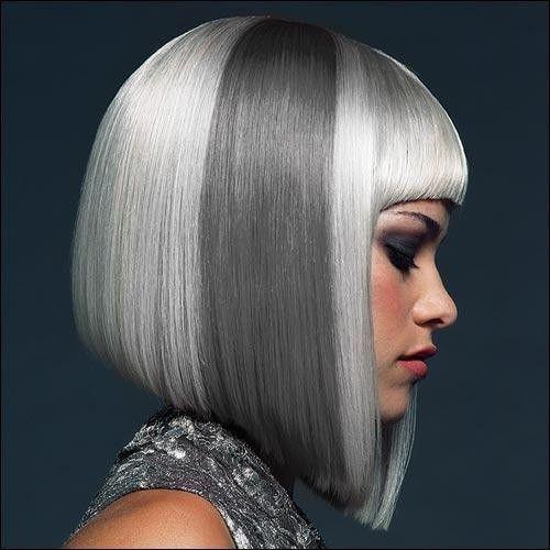 7 Penteados surpreendentes para o cabelo cinza prata