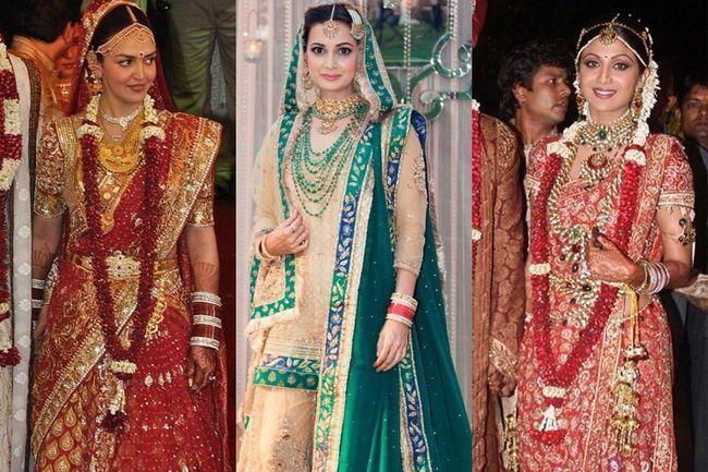 7 Vestidos de noiva bollywood mais caras alardeados por celebridades de bollywood