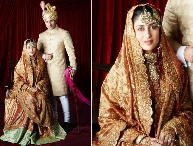 Vestidos de casamento Kareena Kapoor