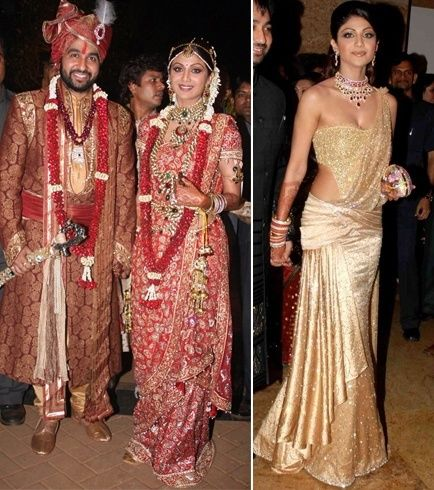 casamento Shilpa Shetty