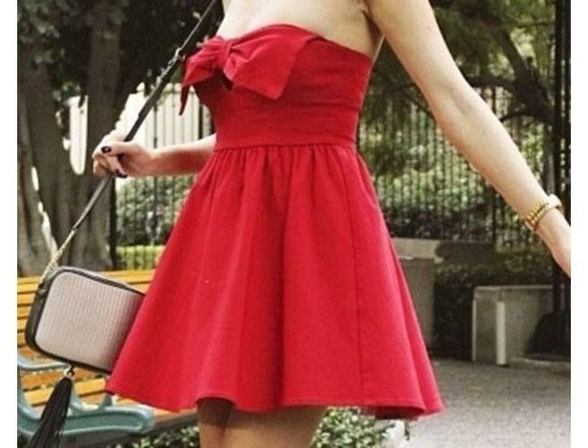 Bow saias sans as mangas