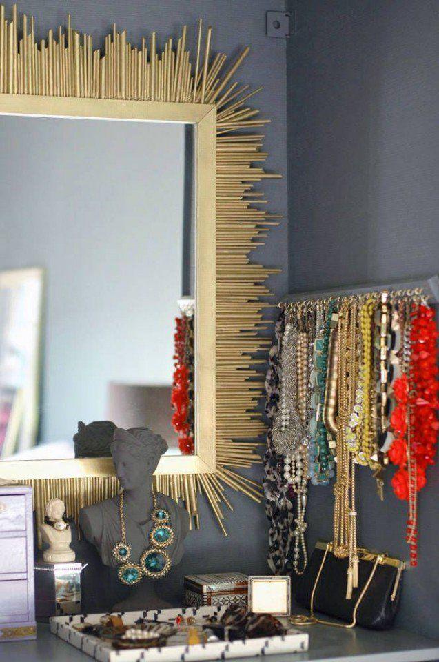 9 Maneiras extravagantes para mostrar suas jóias