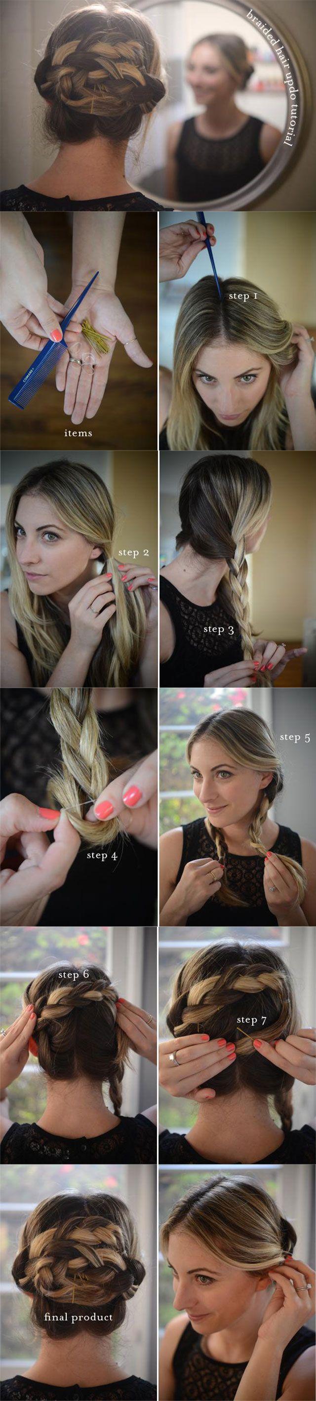9 Penteados bonita diy com tutoriais passo-a-passo