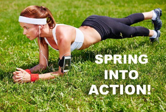 9 Dicas para a aptidão da primavera