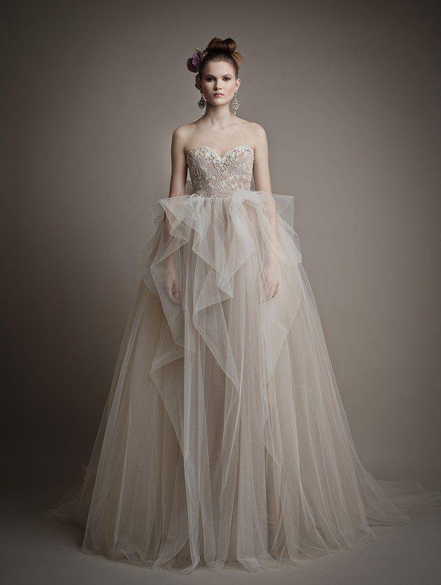 Uma coleção de tirar o fôlego de fadas vestidos de noiva por atelier ersa