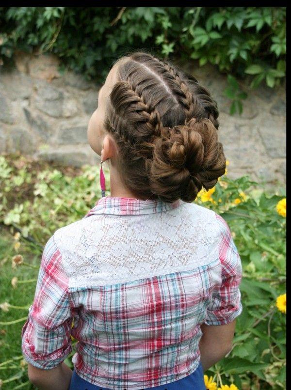 Uma coleção de 25 penteados adorável para as meninas
