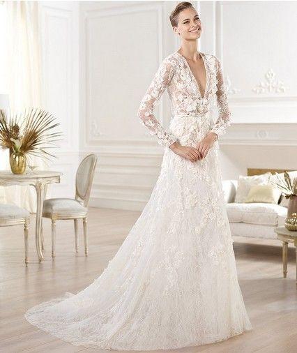 Uma coleção de vestidos de casamento elie saab de tirar o fôlego para 2014