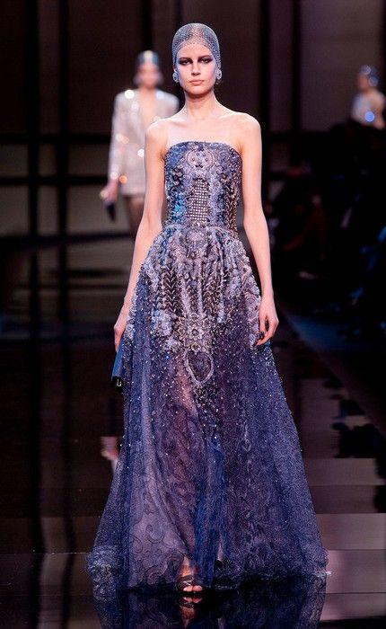 Giorgio Armani Privé Haute Couture Primavera 2014