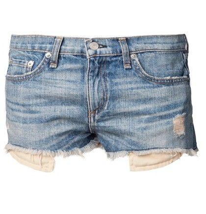 Uma coleção de shorts jeans quentes para a primavera / verão 2014