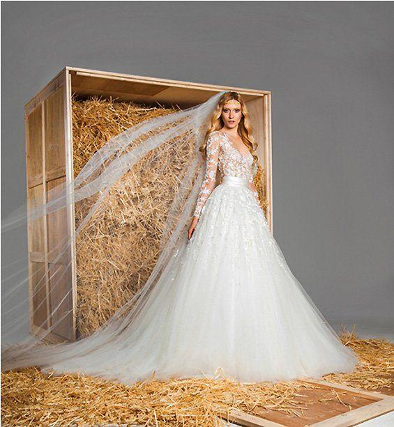 Uma coleção de zuhair murad 2015 vestidos de noiva