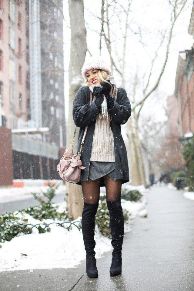 Uma galeria de ideias outfit 16 de inverno para 2015