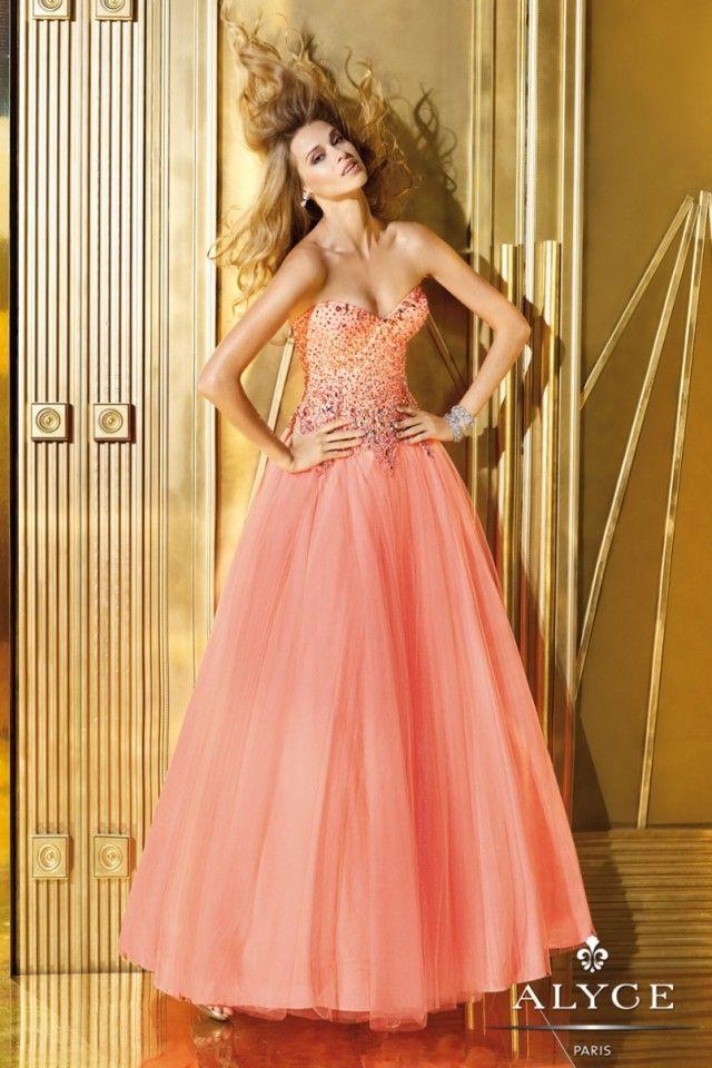 Uma coleção bonita de 25 alyce vestidos de baile para 2014