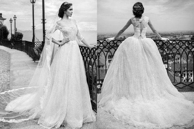 Um sneak peak exibindo os famosos vestidos de noiva alessandra rinaudo